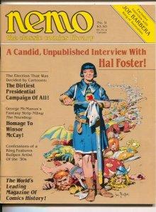 Nemo The Classic Comics Library #9 1984-Hal Foster-Joseph Barbera-Winsor McCa...