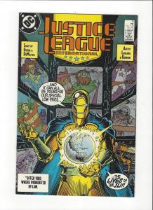 Justice League International #15 1987 DC Comics Copper Age  NM