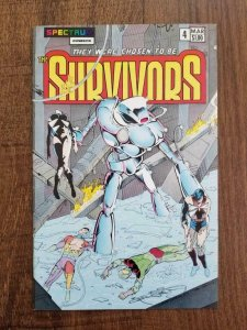 SURVIVORS #4, VF/NM, Steve Woron, Spectrum Comics 1983 1984  more in store