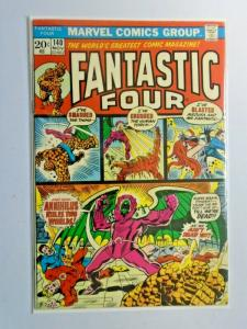 Fantastic Four #140 1st Series water stain 4.0 VG (1973)