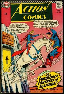 ACTION COMICS #336 1966-SUPERMAN-FORTRESS OF SOLITUDE FN