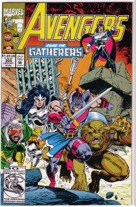 Avengers   vol. 1   #355 FN Harras/Epting/Palmer, Swordsman