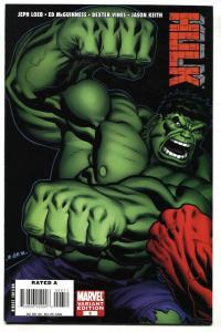 Hulk #6 2009 comic book Variant cover