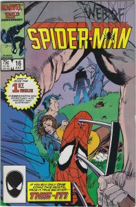Web of Spider-Man #16 (1986)