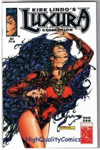 LUXURA COLLECTION by Kirk Lindo, NM+, Platinum, Variant, 1995, Vampire