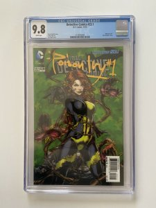 Detective Comics 23.1 CGC 9.8 Poison Ivy 1 2-D cover White Pages 11/2013