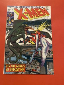 The X-Men #61 (1969) neal Adams art and sauron epic