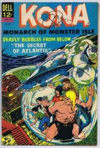 Kona #21 ORIGINAL Vintage 1967 Dell Comics