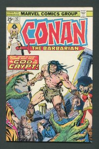 Conan The Barbarian #52 / 8.0 VFN  July 1975
