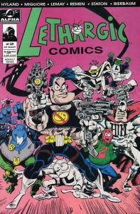 Lethargic Comics #2 FN; Alpha | save on shipping - details inside