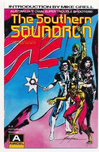 Southern Squadron Book I (1990 Aircel) #1 VF