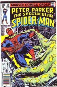 Spider-Man, Peter Parker Spectacular #31 (Jun-80) NM- High-Grade Spider-Man
