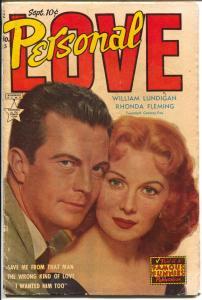 Personal Love #23 1953-Famous Funnies-Rhonda Fleming-Lundigan-VG