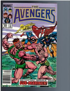 The Avengers #262 (1985)