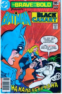 Brave and The Bold # 141  THE JOKER ! BLACK CANARY !