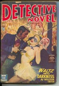 Detective Novel 3/1948-Thrilling-Waltz Into Darkness-Cornell Woolrich-VF