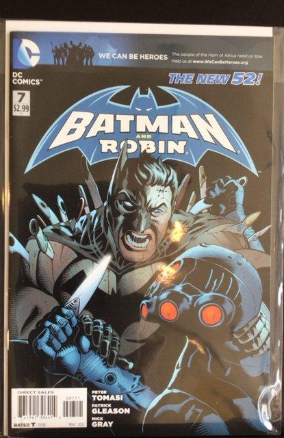 Batman and Robin #7 (2012)