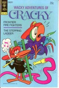 WACKY ADVENTURES OF CRACKY 7 VF-NM   June 1974 COMICS BOOK