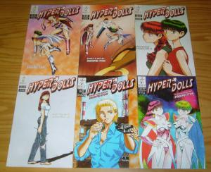Shinpei Itoh's Hyper Dolls vol. 4 #1-6 VF/NM complete series  ironcat manga set