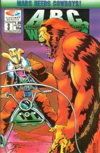 A.B.C. Warriors #3 FN; Fleetway Quality | save on shipping - details inside