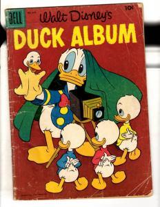 Four Color # 649 VG Dell Silver Age Comic Book Walt Disney Duck Album JL11