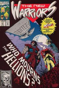 New Warriors (1990 series) #31, VF+ (Stock photo)