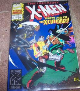 UNCANNY X-MEN ANNUAL #17 1983 X-CUTIONER  MARVEL   mutants