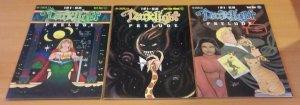 Darklight Prelude 1-3 Complete Set Run! ~ NEAR MINT NM ~ 2000 Sirius COMICS