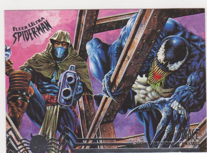 1995 Fleer Ultra Spider-Man #105 Venom and Mace
