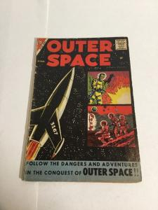 Outer Space Vol 3 Issue 19 Vg- Very Good- 3.5 Silver Age