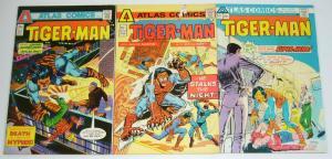 Tiger-Man #1-3 FN complete series - steve ditko - atlas comics - gerry conway 2