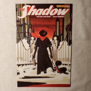 Shadow 7 Near Mint Cover by Darwyn Cooke