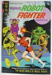 MAGNUS  ROBOT FIGHTER 30 (Gold Key, 2/1972) Very Good COMICS BOOK