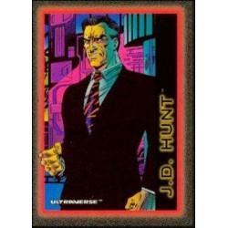1993 Skybox Ultraverse: Series 1 J.D. HUNT #63