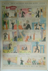 Hairbreadth Harry Sunday by F.O. Alexander from 5/29/1932 Full Page Size !
