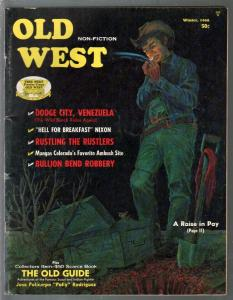 Old West -Winter 1968-Larry Smitherman-Wild Bunch-Dodge City-VG