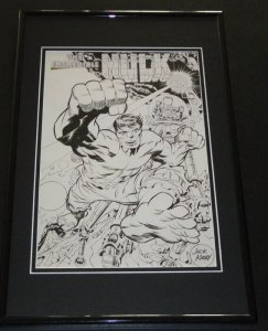 Incredible Hulk The Leader Framed 11x17 Photo Display Official Repro Jack Kirby