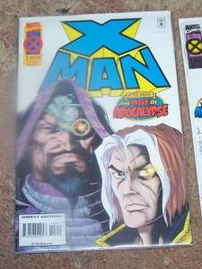 X MAN  # 3  age of apocalypse after xavier - cable/ NATE GRAY AOA