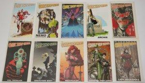 Spider-Man versus Mysterio complete story Comic Shop News #1433-1449 comic strip