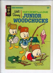 Huey Dewey and Louie Junior Woodchuks #1 (Aug-66) VG/FN+ Mid-Grade Huey Dewey...