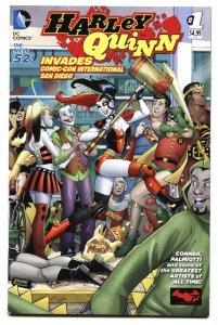 HARLEY QUINN Invades Comic-Con #1 2014--DC-BATMAN comic book NM