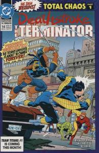 Deathstroke the Terminator #14 FN; DC | save on shipping - details inside