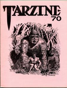 Tarzine #70 1988-Fanzine for collectors of Tarzan and ERB memorabilia-VF