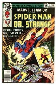 Marvel Team-up #76- SPIDER-MAN and DR. STRANGE NM-