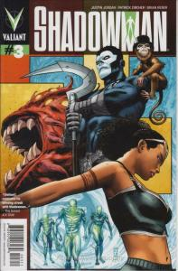 Shadowman (4th Series) #3 VF/NM; Valiant | save on shipping - details inside