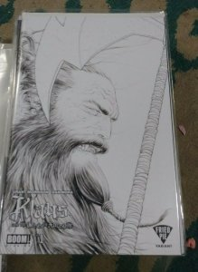 KLAUS AND THE CRISIS IN XMASVILLE #1 BOOM STUDIOS FRIED PIE SKETCH VARIANT