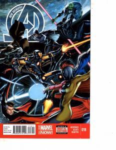 Lot Of 2 Marvel Comic Book New Avengers #18 and Secret Avengers #1   MS20