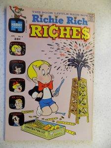 RICHIE RICH RICHES # 4 HARVEY CARTOON ADVENTURE FUNNY