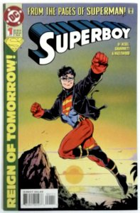 Superboy #1 NM (1994 3rd Series) DC Comic Comics book Reign of Tomorrow Superman