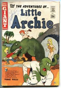 Adventures of Little Archie #32 1964- Cave Girl cover- Dinosaur G